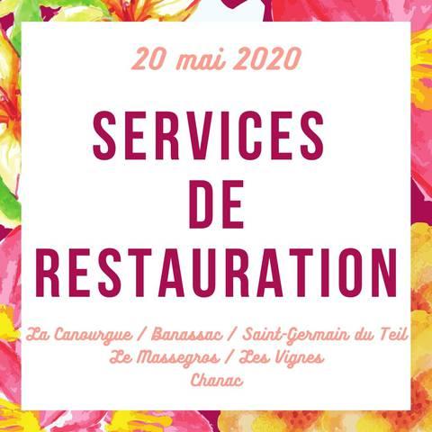 Services de restauration