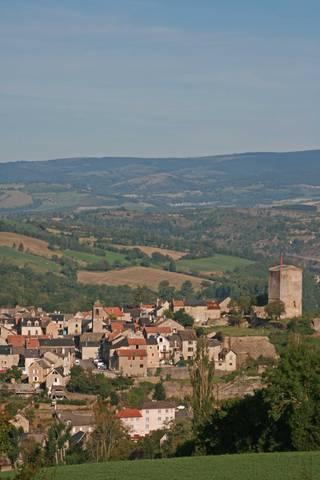 Plan de village de Chanac