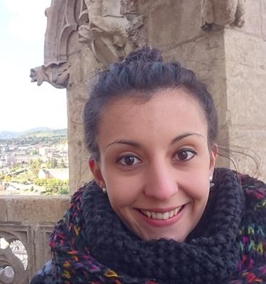 Charlène Bestion conseillère en séjours à l'Office de Tourisme de l'Aubrac aux Gorges du Tarn