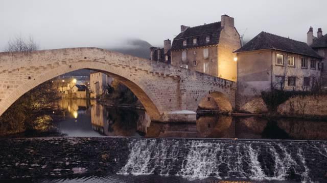 Le pont Notre-Dame à Mende.