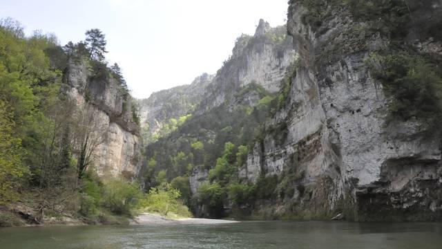 Les Détroits dans les Gorges du Tarn.