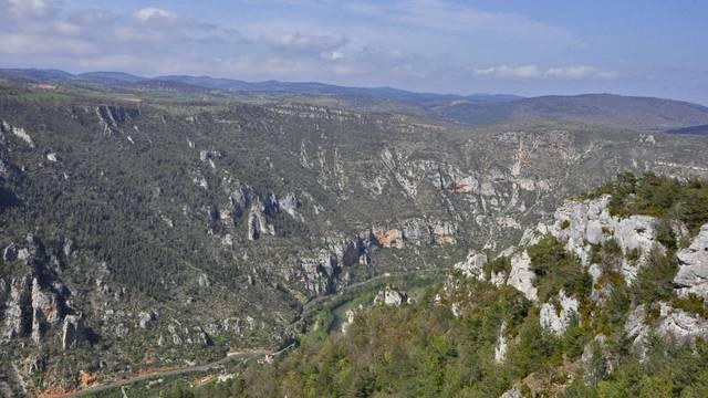 Panorama roc des hourtous lozère