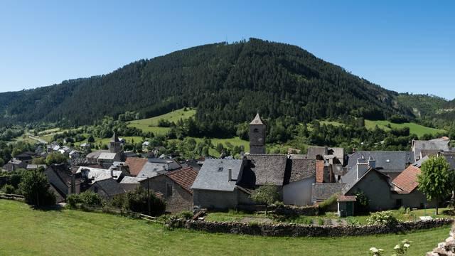 Le village de Chanac.