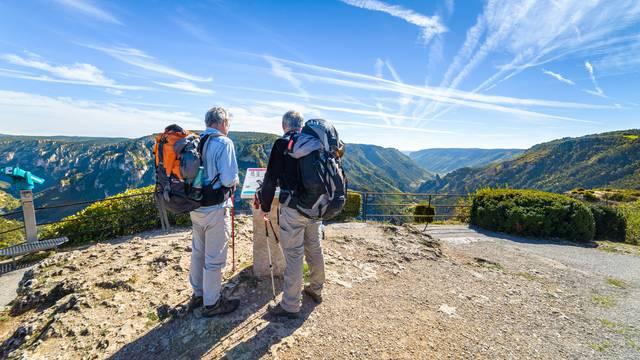 randonnée gorges du tarn marche sentiers