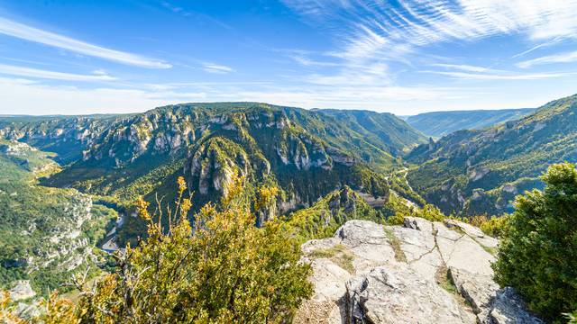 randonnée point sublime cirque des baumes