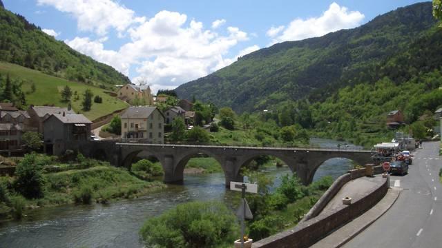 Le village des Vignes au coeur des Gorges du Tarn
