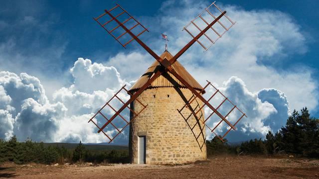 Le moulin de la Borie.