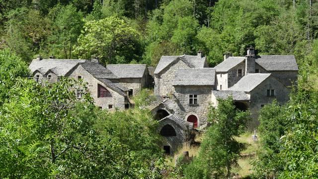 Village de la Croze Gorges du Tarn