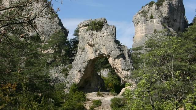 Parc Nature de Montpellier le Vieux