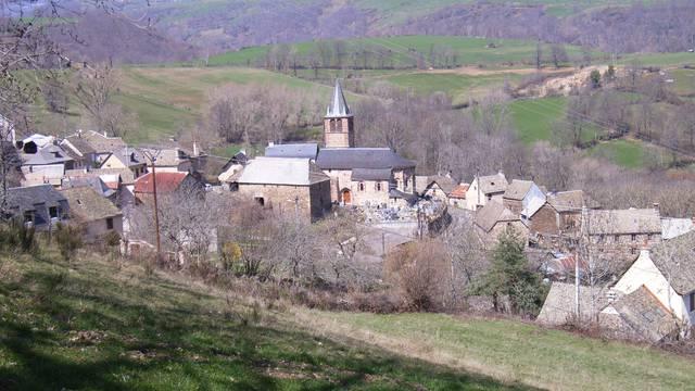 Le village de Saint-Pierre-de-Nogaret