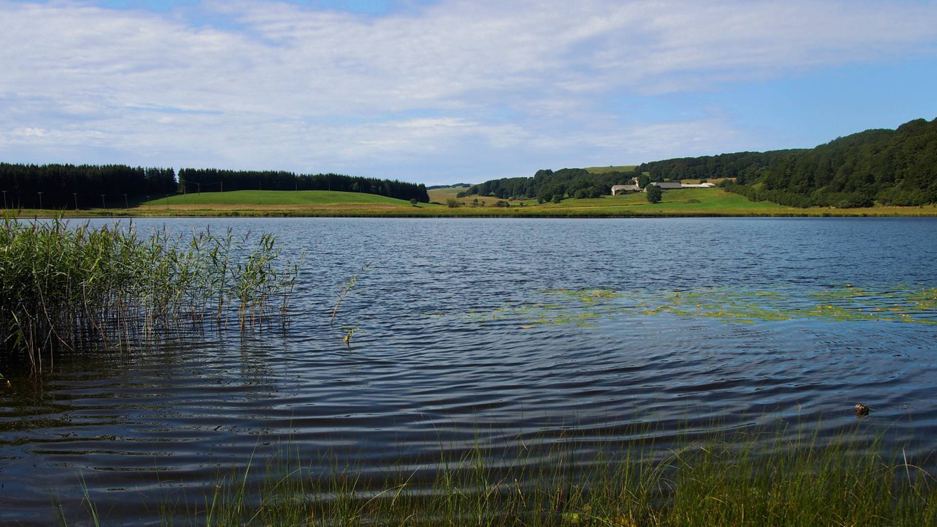 Lake in Aubrac