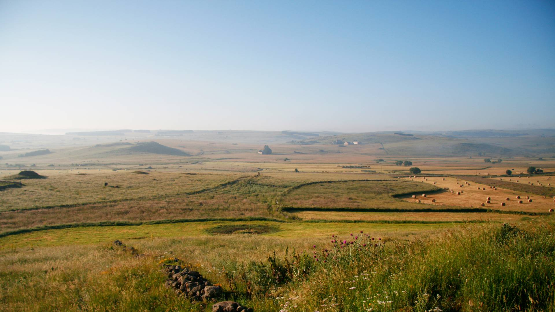 Aubrac landscape