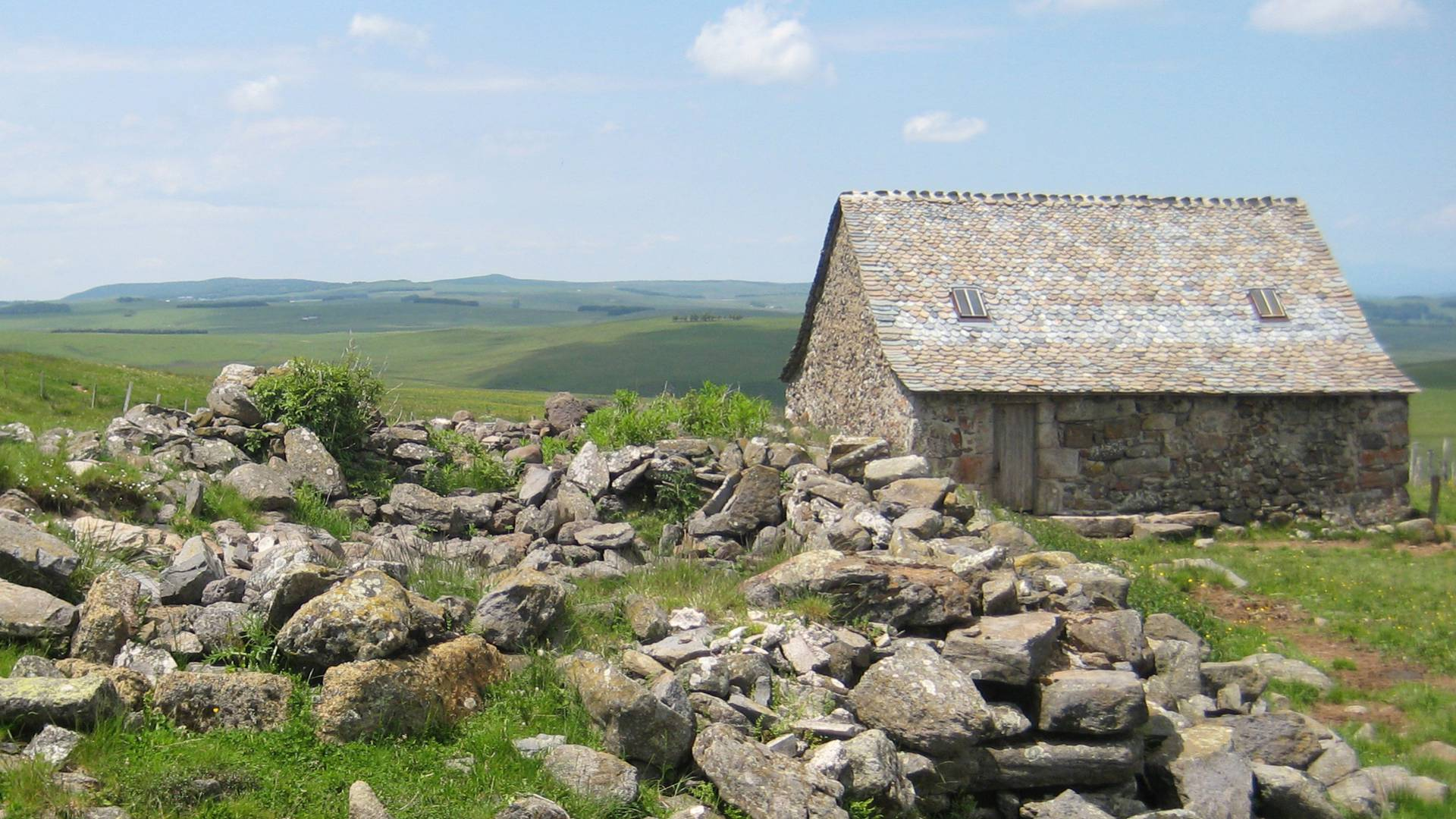 A buron hut on the Aubrac