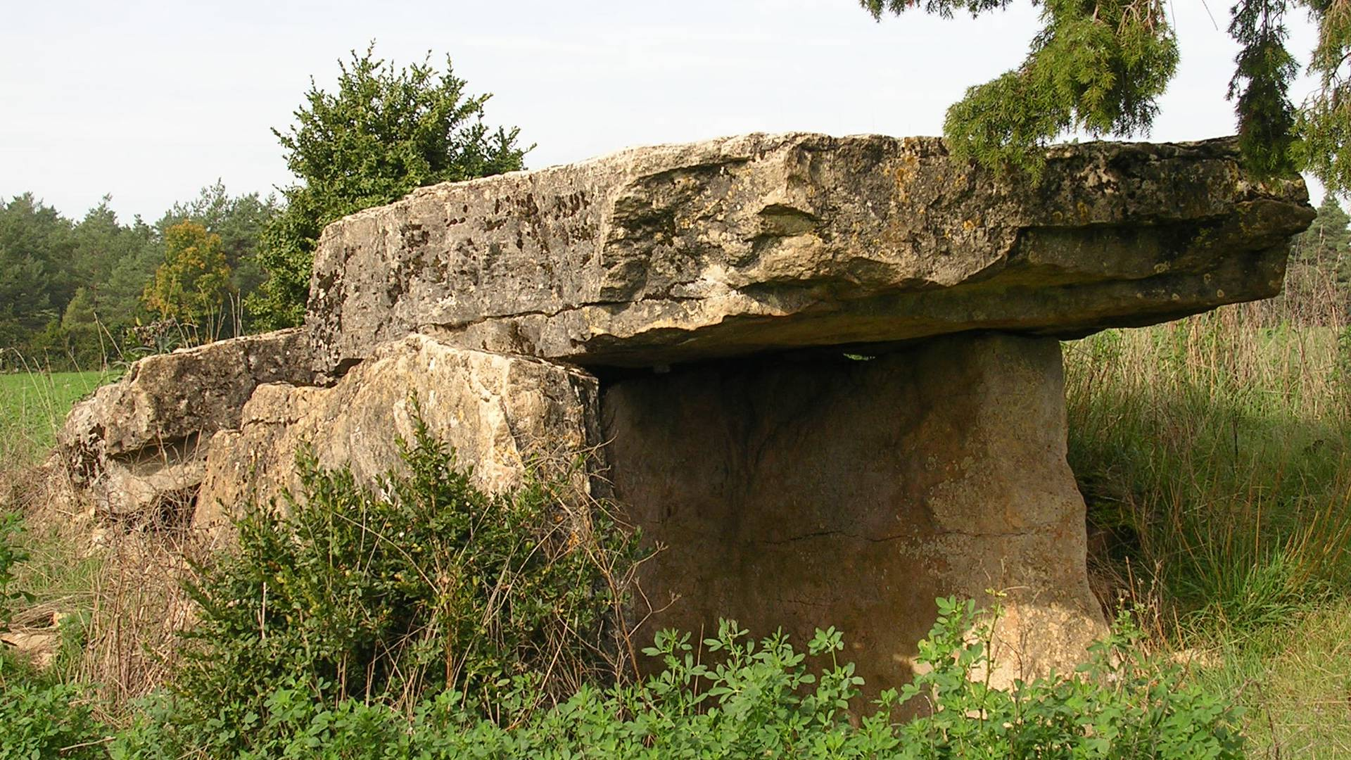 Galline's dolmen near Banassac.