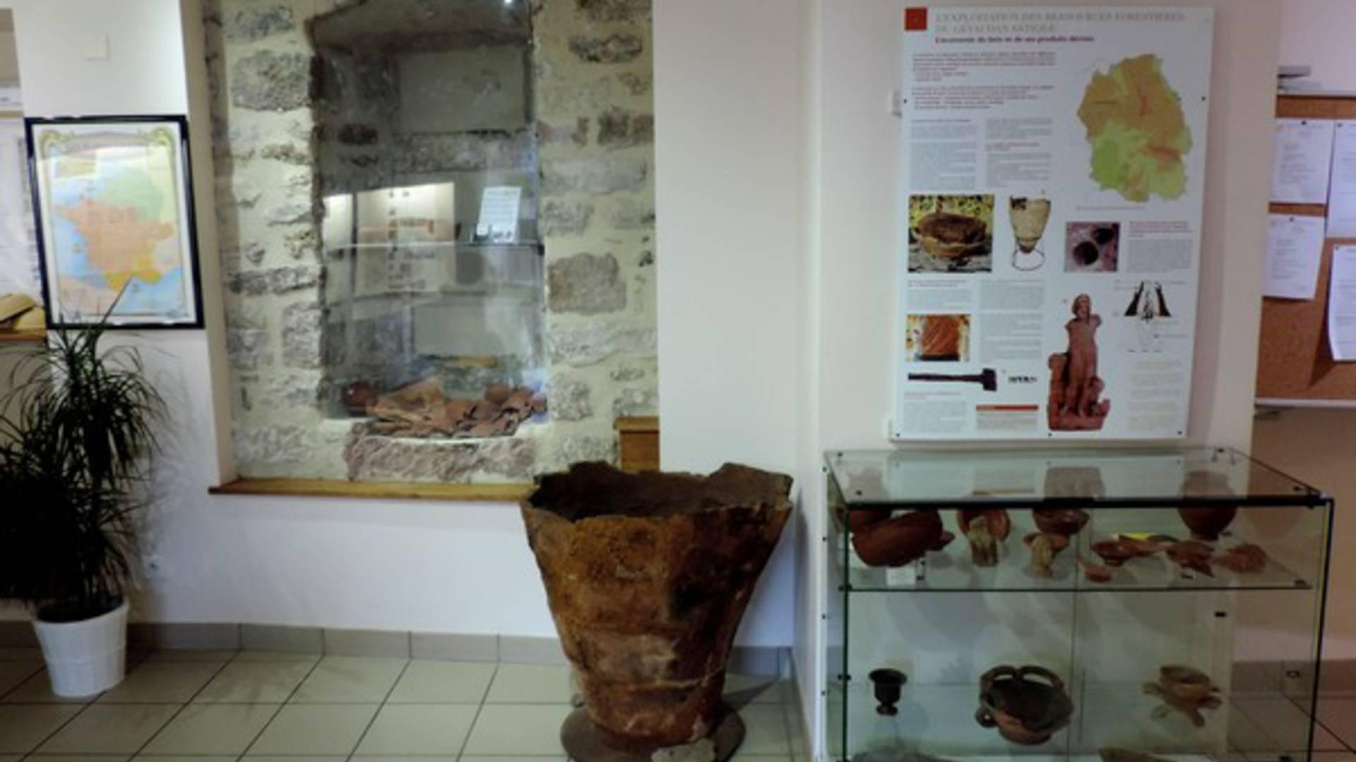 Le Musée de Banassac situé dans les locaux de la Mairie.