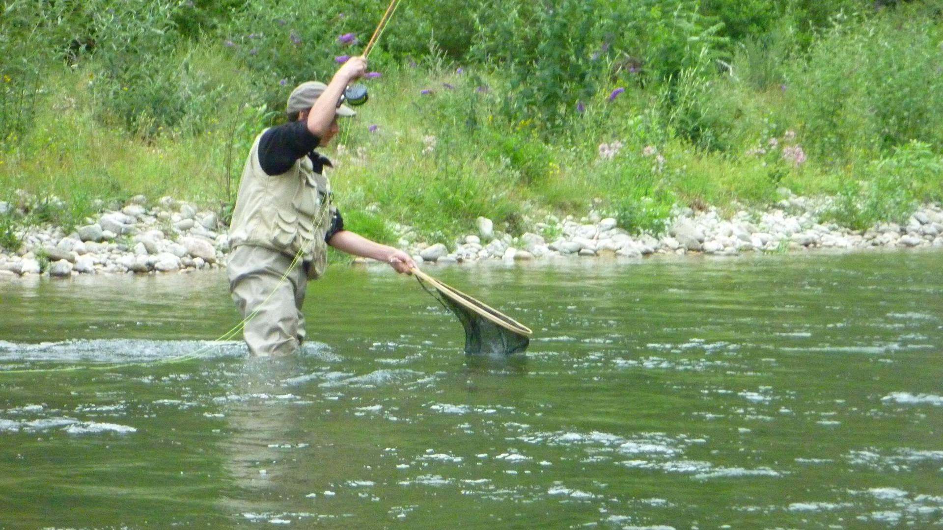 Pêche en Lozère dans le Lot