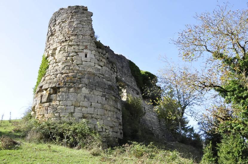 ruines château Lozère