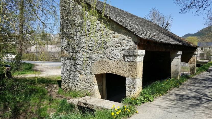 Chanac's washhouse.