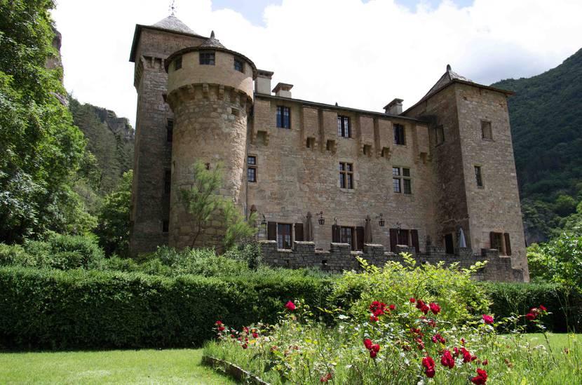 La Caze's castle in Laval-du-Tarn near the Tarn river