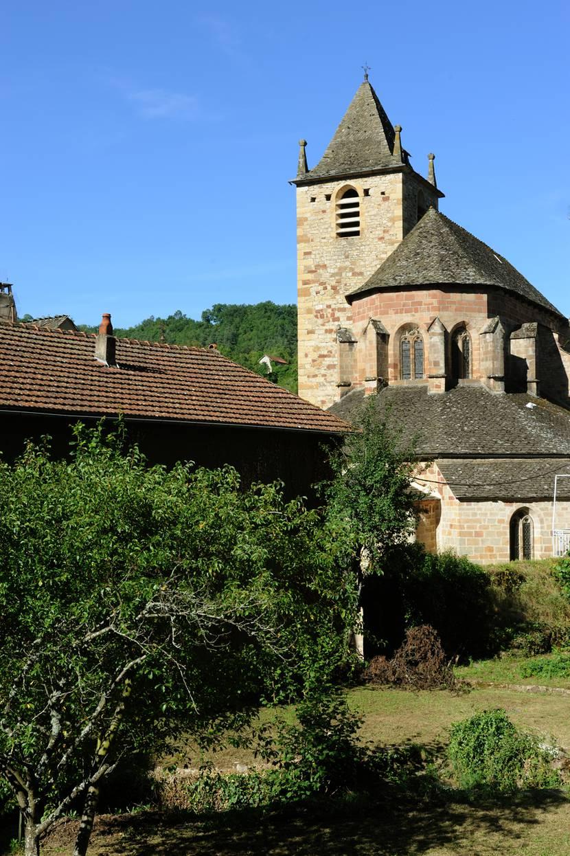 l'église de la canourgue