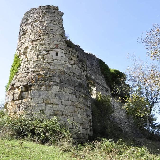Le château de Montferrand près de Banassac.