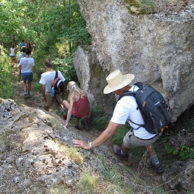 Guided hike around Chanac.