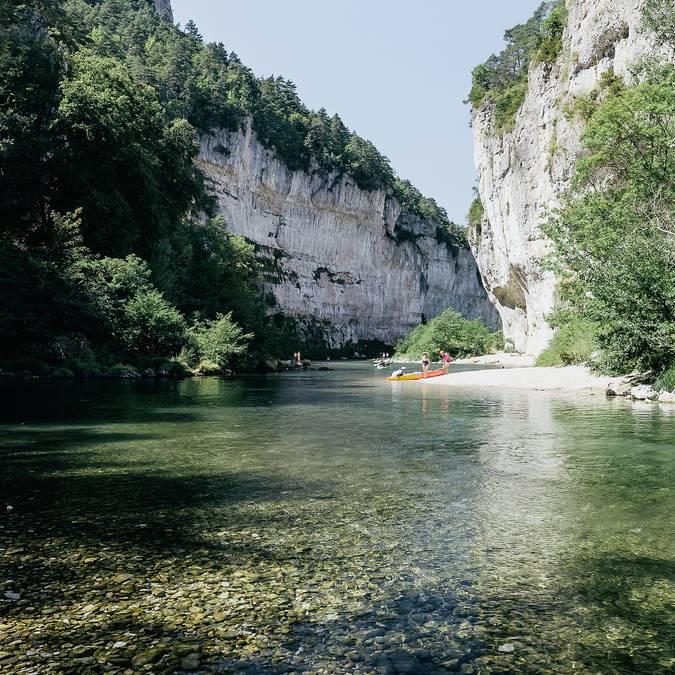 Les détroits des Gorges du Tarn