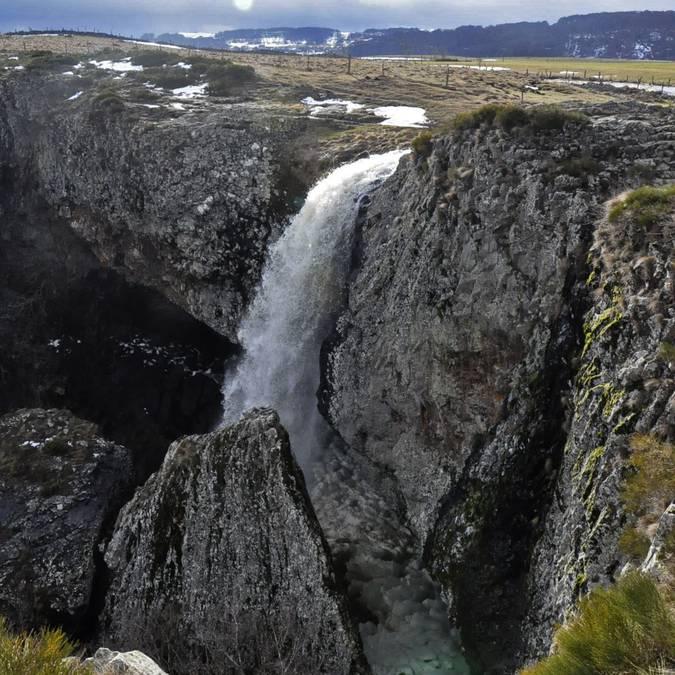 La cascade du Déroc